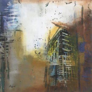 mixed media on paper by Pietro Adamo