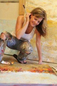 Artist Amy Donaldson