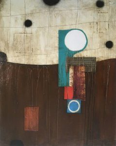 mixed media on paper by Anke Schofield