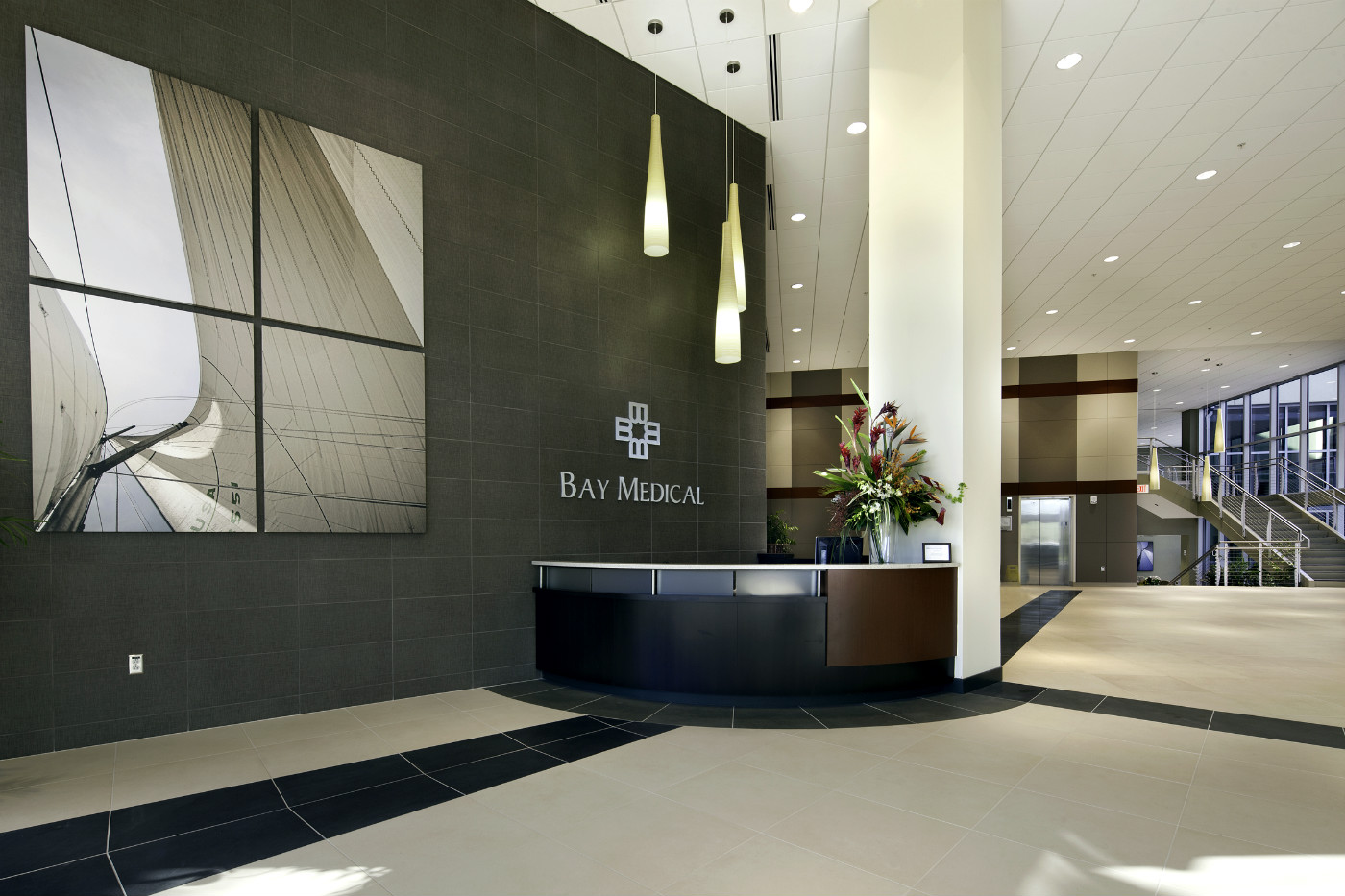 Bay Medical Center Lobby