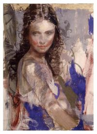 Blue Muse by Charles Dwyer