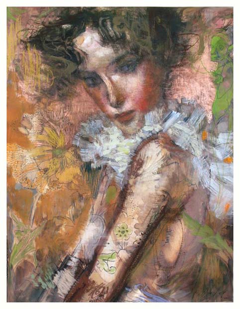 Copper Boa by Charles Dwyer