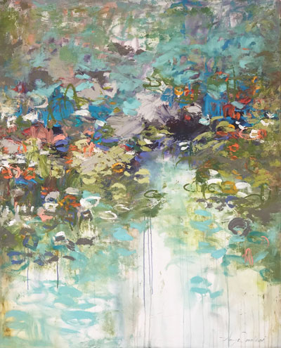 Garden Wall by Amy Donaldson