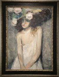 Le Chapeau by Charles Dwyer