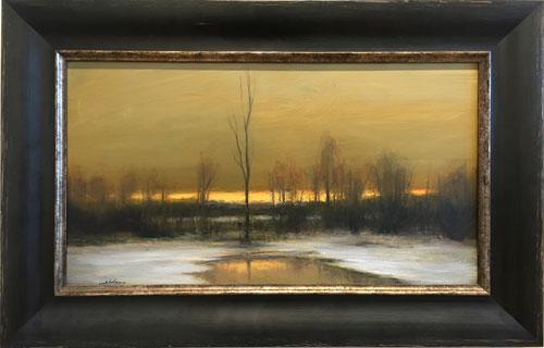 D. Sheehan 'Winter Night'