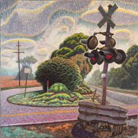 Plein Aire painting titled The Old Selma Road by George Taylor
