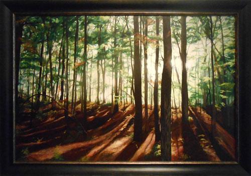 Forest Light by Helen J Vaughn