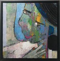 Visage I by Helen Zarin