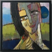 Visage II by Helen Zarin