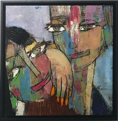 Visage III by Helen Zarin