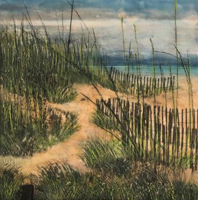 Sand Dune Path by Judy Klich