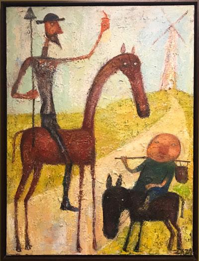Don Quixote by Zaza Khabuliani